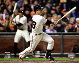 Buster Posey Game 4 of the 2014 National League Division Series Action Photo
