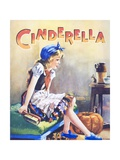 Cindarella with Pumpkin and Mice Giclee Print by Michael Nicholson