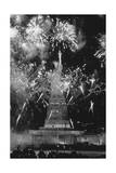 Fireworks at Statue of Liberty Giclee Print