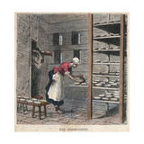 Une Fromagerie Illustration Giclee Print by Stefano Bianchetti