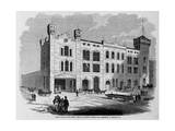 North Front of the Great Central Railway Station, Just Completed at Chicago, Ill. Giclee Print