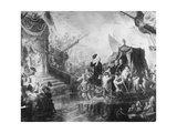 George Washington Arriving for His Inauguration Giclee Print