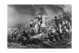 George Washington Directing Troops Giclee Print