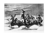 George Washington Crossing the Delaware Giclee Print