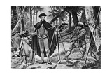 George Washington as A Surveyor Giclee Print