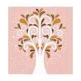 A Image of Tree Giclee Print by  TongRo