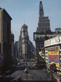 Times Square Photographic Print by Philip Gendreau