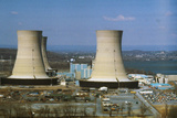 Nuclear Power Plant Photographic Print by Ron Kuntz