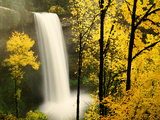 South Silver Falls in Autumn - Silver Falls State Park, OR Photographic Print by Craig Tuttle