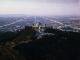 View of Griffith Observatory and Beyond Photographic Print
