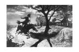 The Midnight Ride of Paul Revere by Percy Reeves Giclee Print
