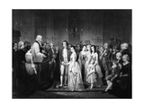 Marriage of George Washington and Martha Curtis Giclee Print