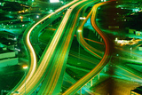 Freeway Interchange Photographic Print by Jay Dickman