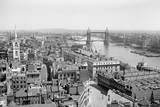 Looking down on London from Monument Photographic Print by Philip Gendreau