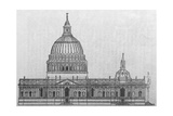 Design for St. Paul's Cathedral Giclee Print