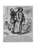 Robinson Crusoe Making a Man of His Friday. Indian Chief. Mr. President, We Call Here To-Day to O Giclee Print