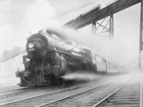 The Twentieth Century Limited of the New York Central Lines by Walter L. Greene Photographic Print