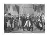 George Washington Saying Farewell Giclee Print