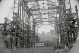 Steel Skeleton of Madison Square Garden Photographic Print