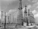 Oil Wells Photographic Print