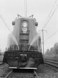 Electric Locomotive Engine Photographic Print by Philip Gendreau