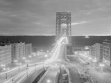 Shot of the George Washington Bridge Photographic Print