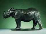 Three Year Old Rhinoceros by Rembrandt Bugatti Photographic Print
