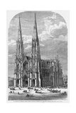 St. Patrick's Cathedral, Fifth Avenue, between Fiftieth and Fifty-First Streets, New York. Giclee Print