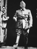 General Franco at His Moment of Triumph at the End of the War, 1939 Photographic Print