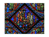 Window W2 Depicting the Adoration of the Magi Giclee Print