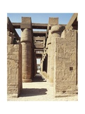 Egypt, Luxor, Karnak, Great Temple of Amon, Hypostyle Hall Giclée-tryk