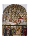Assumption of the Virgin, the Nativity and Saints Giclee Print