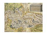 Map of Switzerland, from Theatrum Orbis Terrarum, 1570 Giclee Print