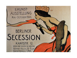 Berlin Secession', Poster for the Exhibition from May-October 1900 Giclee Print