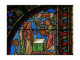 Window W0 Depicting the Presentation in the Temple Giclee Print