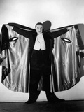 Bela Lugosi in Costume as Dracula, 1931 Photographic Print