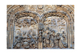 Nativity and Adoration of the Magi, Relief on the Entrance to the New Cathedral Giclee Print