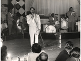 Cab Calloway Performing at the Clover Club, C.1950 Photographic Print