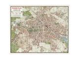 Map of Berlin, 1902 Giclee Print