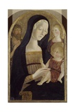 Madonna and Child with Saints John the Baptist and Mary Magdalene Giclee Print