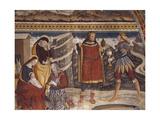 Adoration of the Magi, Detail of Fresco Giclee Print