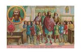 Charlemagne, Founder of the Carolingian Empire Giclee Print
