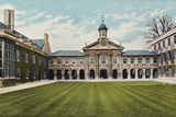 Emmanuel College Photographic Print by  English Photographer