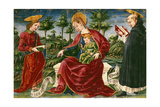 Madonna with Child, Miniature from Bolognese Master from Liber Iurium Giclee Print