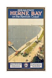 Healthy Herne Bay on the Kentish Coast', Poster Advertising Southern Railway Giclee Print