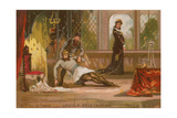 Louis V of France, known as Louis the Indolent Giclee Print
