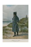 Napoleon at St Helena Giclee Print