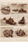 Vehicles of Victory: Units of the Mechanised Cavalry Photographic Print