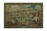 Louis XIV at the Battle of Tournay, June 21, 1667 Giclee Print