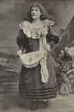 "Miss Georgina Preston, as Polly Perkins in ""Robinson Crusoe,"" Grand Theatre, Islington Photographic Print"